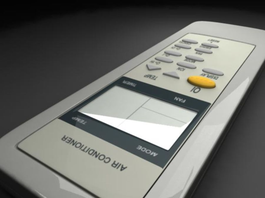 Remote Control royalty-free 3d model - Preview no. 2