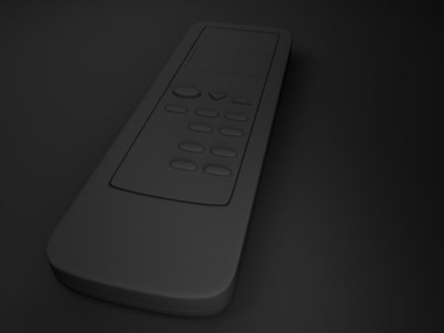 Remote Control royalty-free 3d model - Preview no. 5