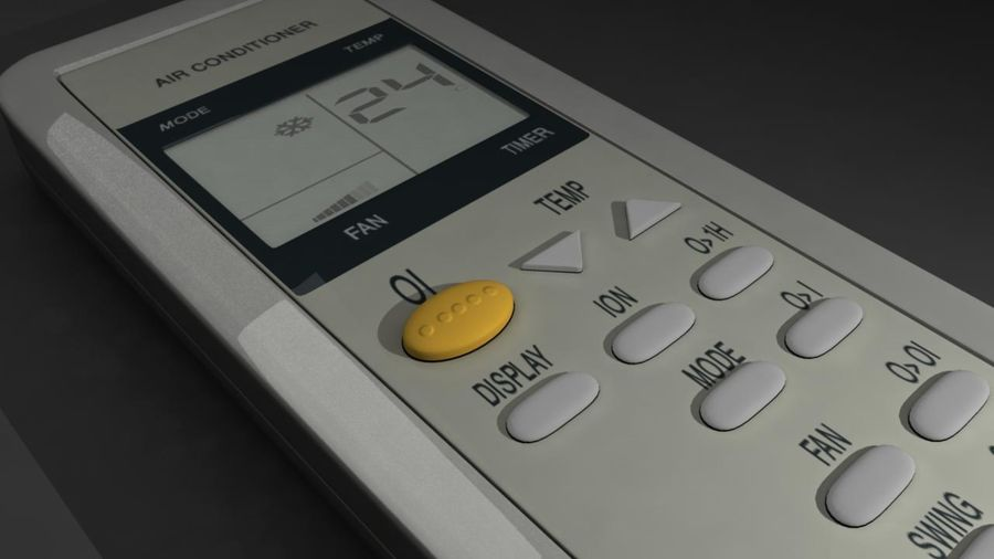 Remote Control royalty-free 3d model - Preview no. 3