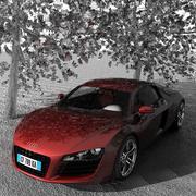 Audi R8 V8 3d model