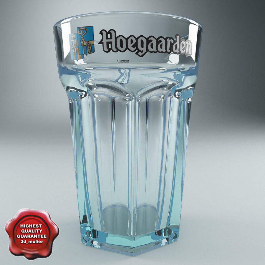 Beer Glass V3 royalty-free 3d model - Preview no. 1