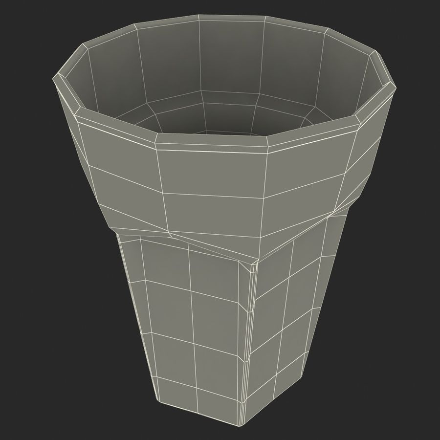 Beer Glass V3 royalty-free 3d model - Preview no. 8