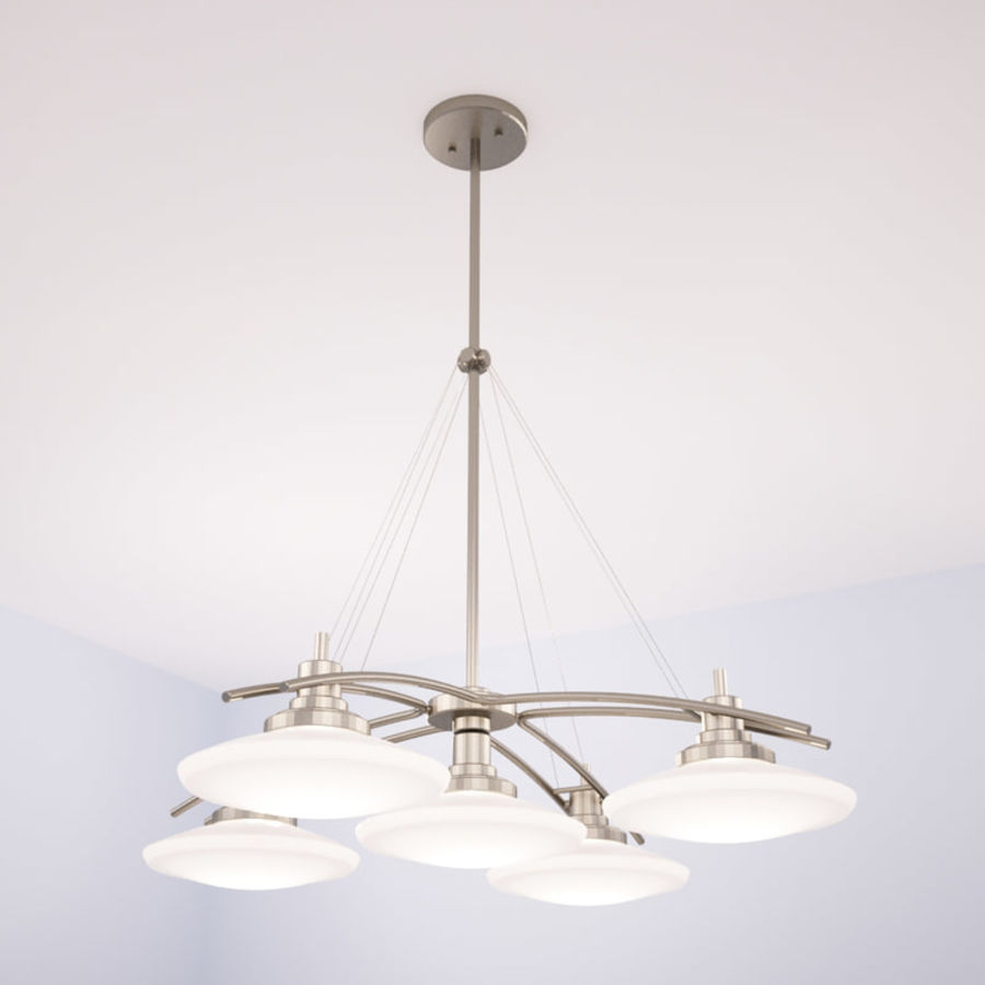 Kichler Structures Chandelier Light 3D Model $10 - .dwg .max - Free3D