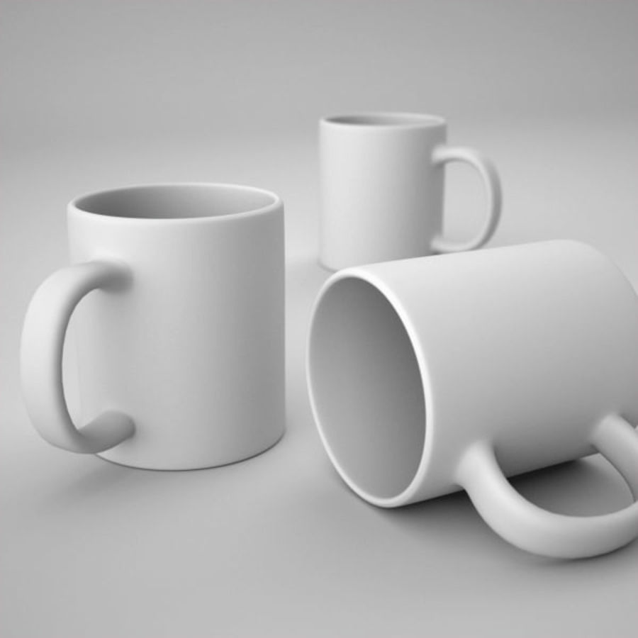 Pantone cup royalty-free 3d model - Preview no. 4