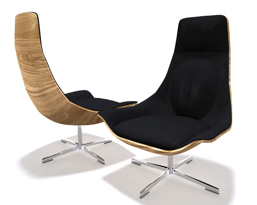 Matteo Grassi Chair royalty-free 3d model - Preview no. 1