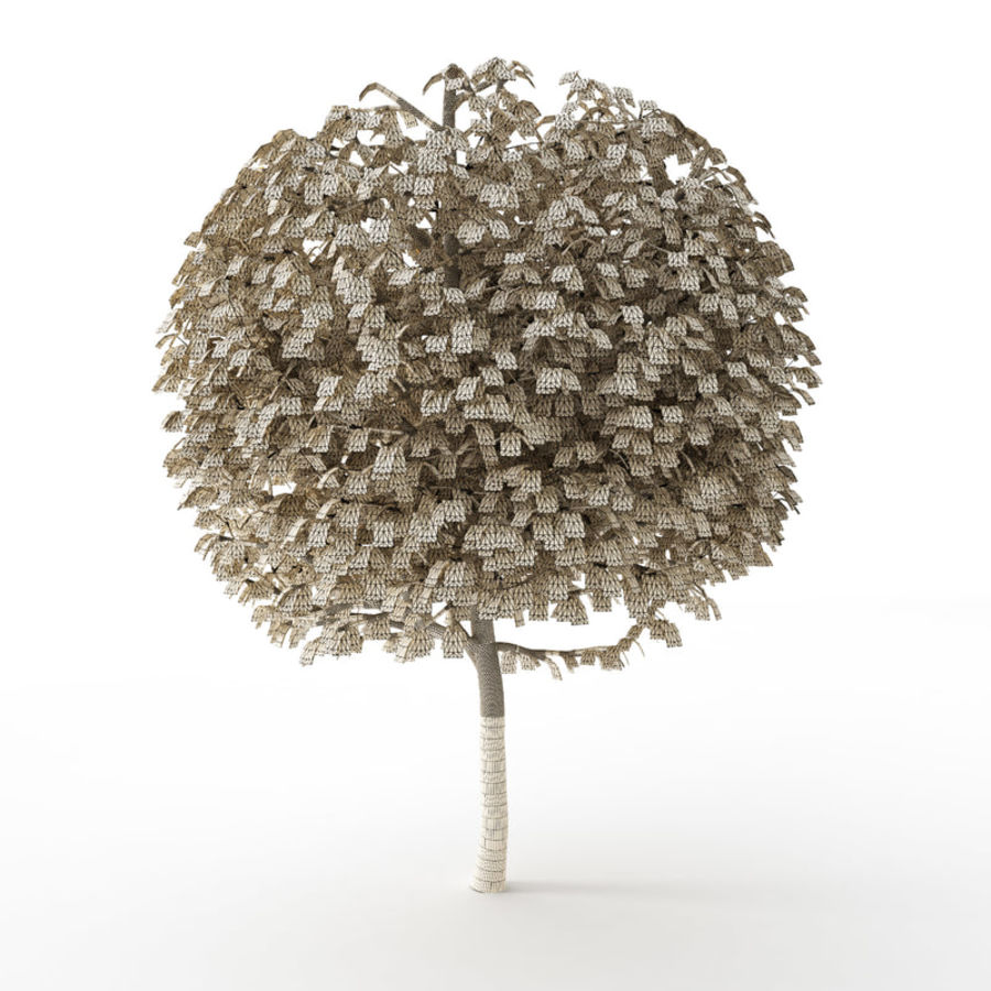 Tree Trimmed Sphere royalty-free 3d model - Preview no. 6