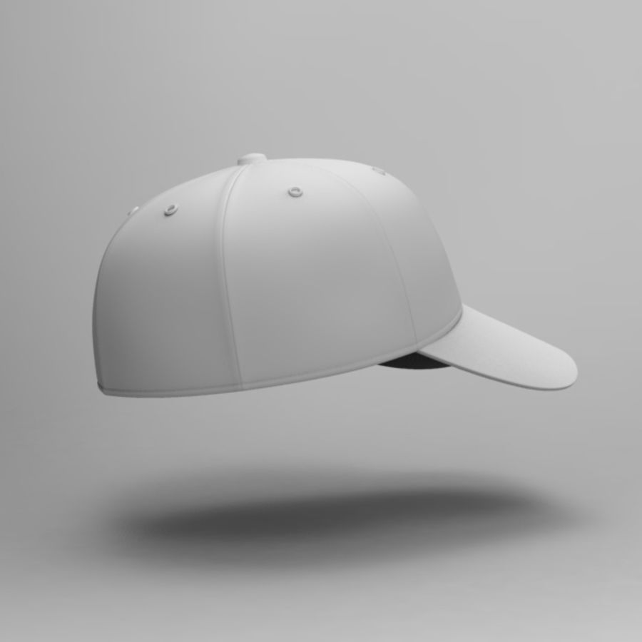 Cap Collection royalty-free 3d model - Preview no. 16