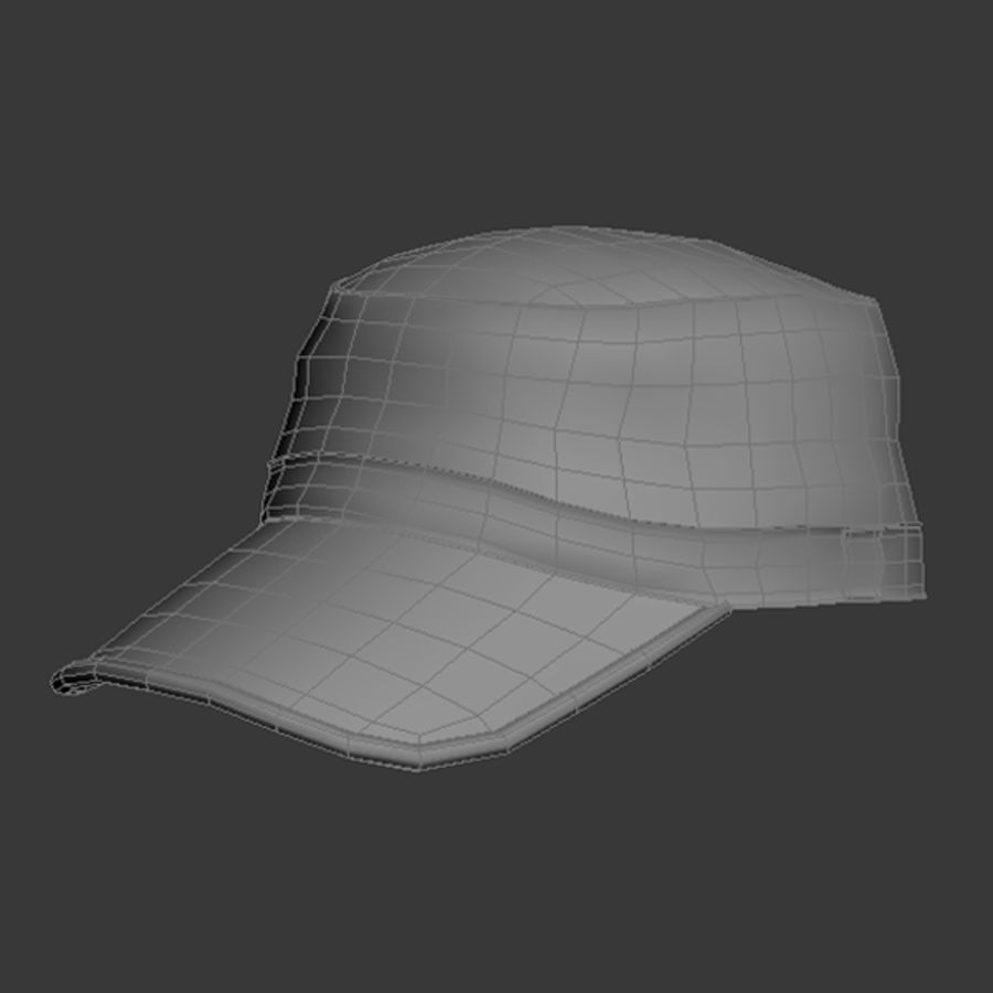 Cap Collection royalty-free 3d model - Preview no. 12