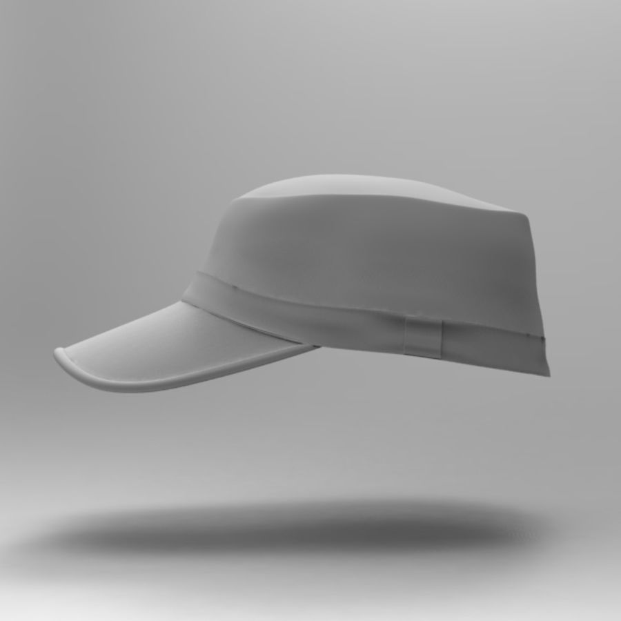 Cap Collection royalty-free 3d model - Preview no. 11