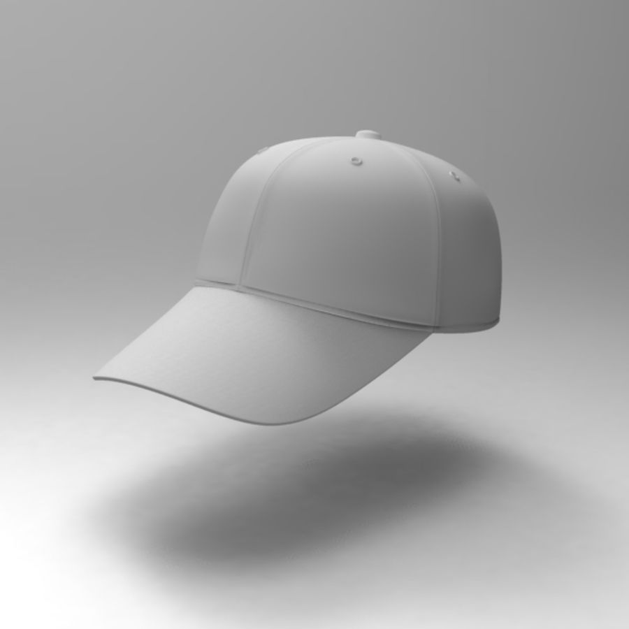 Cap Collection royalty-free 3d model - Preview no. 14