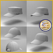 Cap Collection 3d model