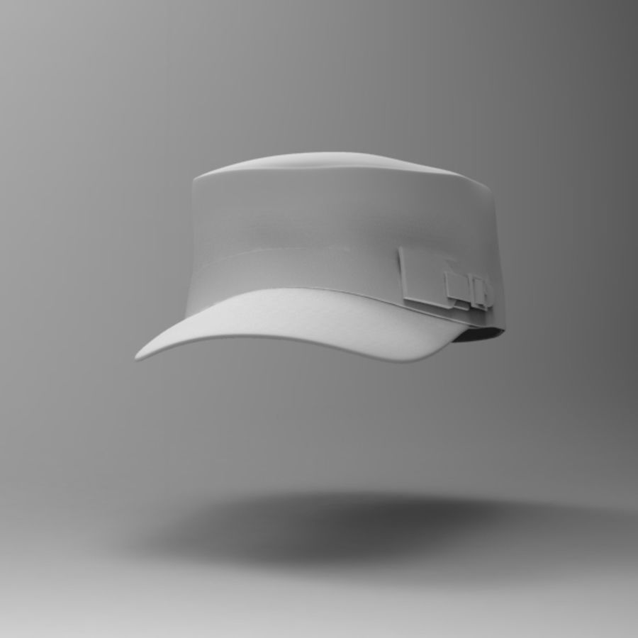 Cap Collection royalty-free 3d model - Preview no. 3