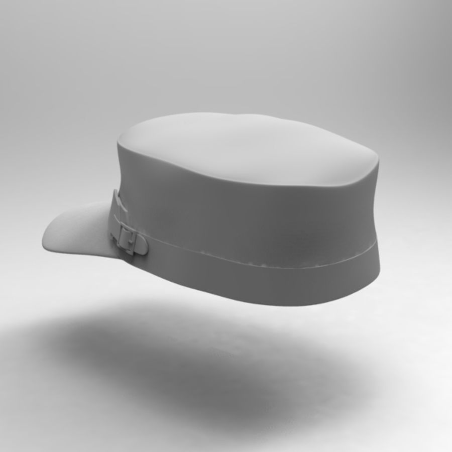 Cap Collection royalty-free 3d model - Preview no. 6