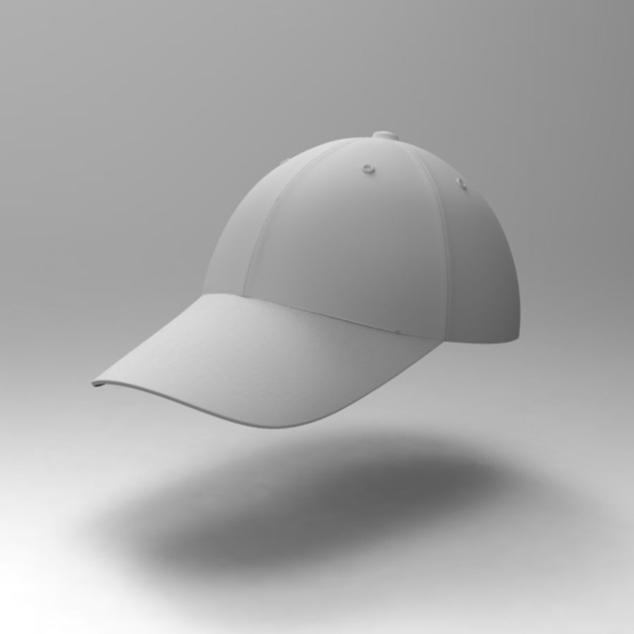 Cap Collection royalty-free 3d model - Preview no. 20