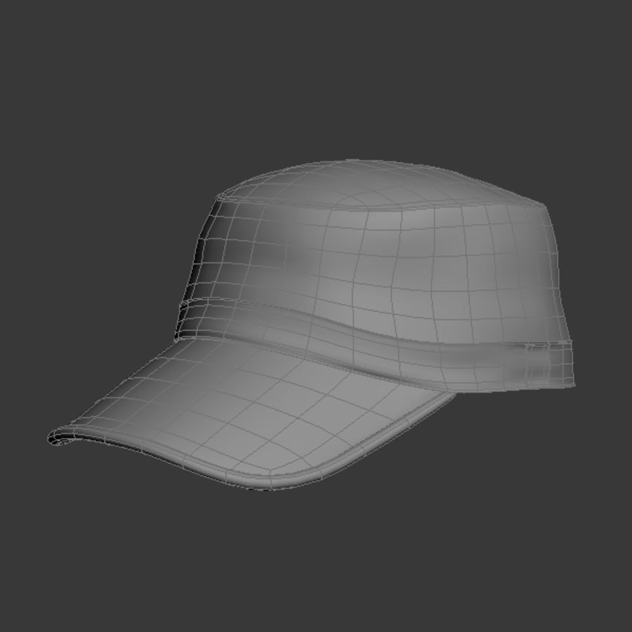 Cap Collection royalty-free 3d model - Preview no. 13