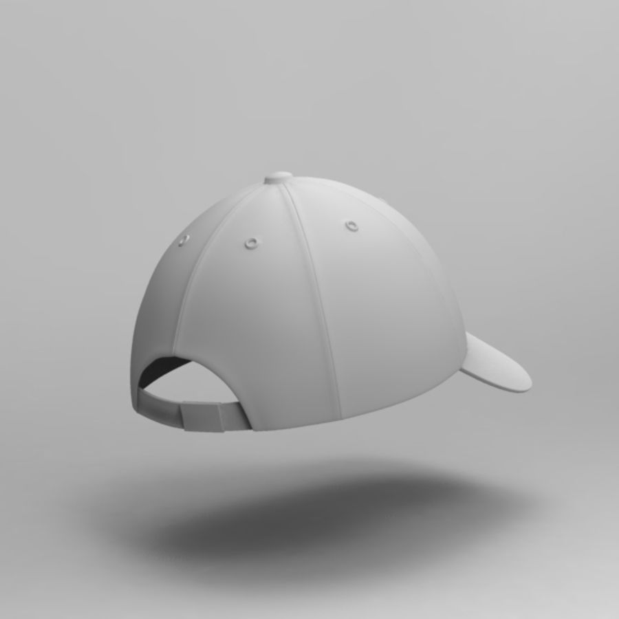 Cap Collection royalty-free 3d model - Preview no. 23