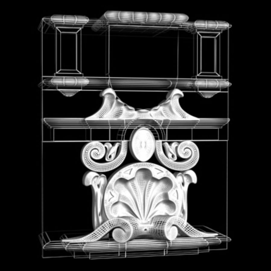 Architecture element (16) royalty-free 3d model - Preview no. 2