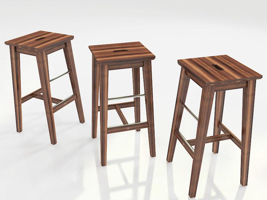 Tavolo e sgabelli ikea bosse bjorkudden modello d fbx dwg