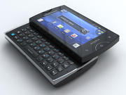 Sony Ericsson Xperia mini pro 3d model