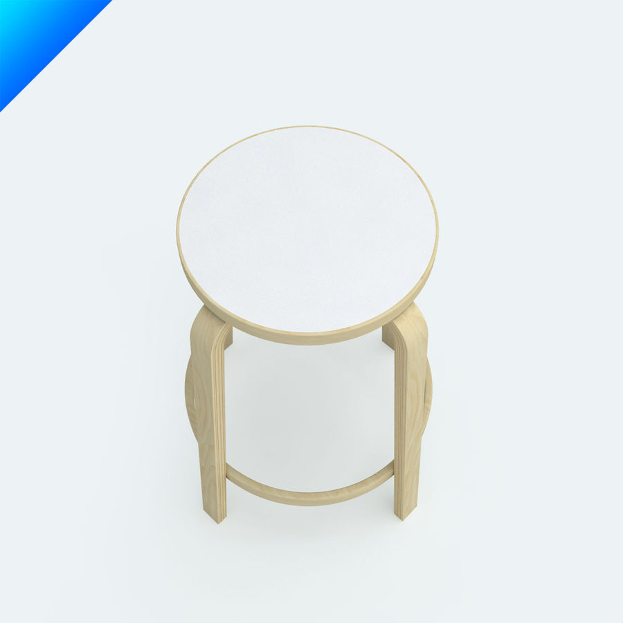 1 High Chair 64 Royalty Free 3d Model   Preview No.