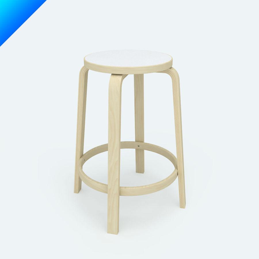 High Chair 64 3d Model