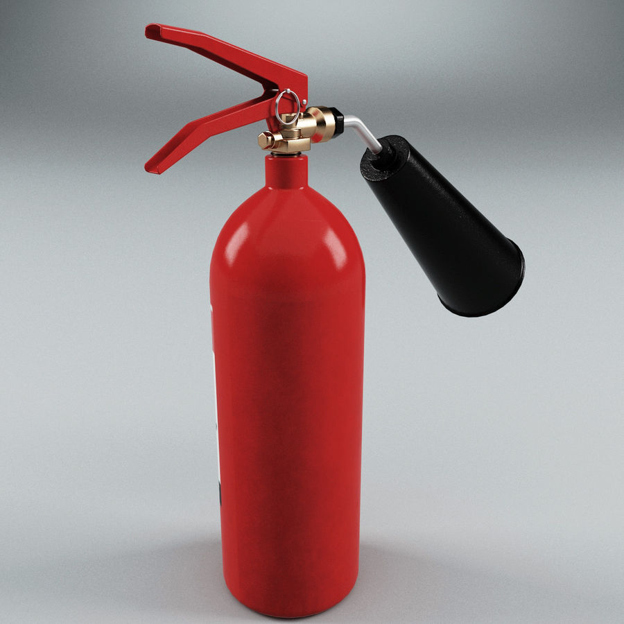 Fire Extinguisher V1 royalty-free 3d model - Preview no. 4