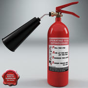 Fire Extinguisher V1 3d model