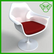 Cafe Chair 3 3d model