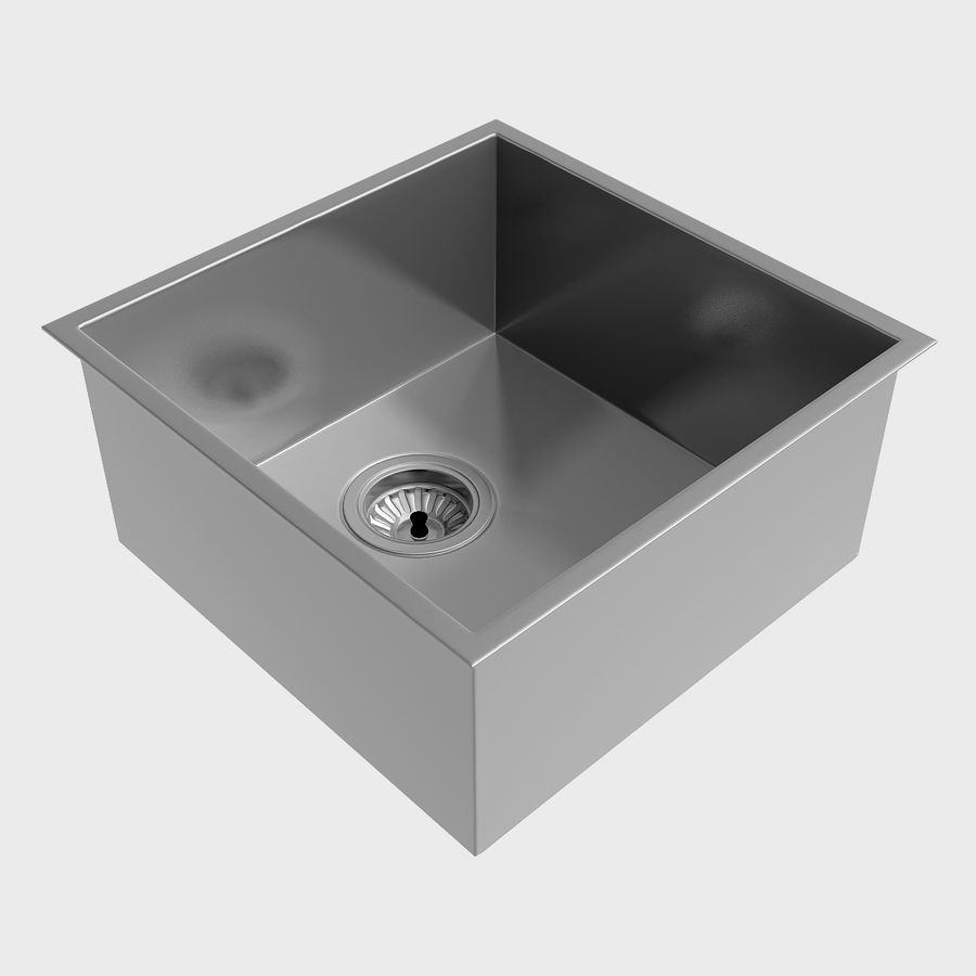 Clark Razor Kitchen Sink Range 3D Model $12 - .dae .dxf .fbx .lwo ...