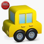 Construction Icons 18 Car 3d model