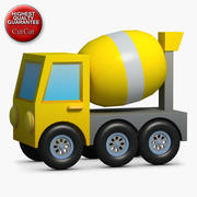 Construction Icons 25 Concrete Mixer 3d model