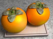 Diospyros Kaki Japanese Persimmon Fruit 3d model