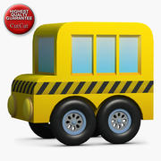 Construction Icons 23 Bus 1 3d model