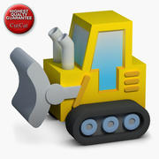 Construction Icons 02 Bulldozer 3d model