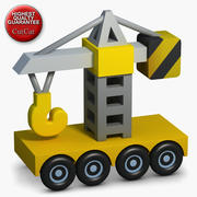 Construction Icons 07 Crane 3d model