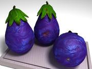 Fruta em forma de pêra 3d model