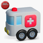 Construction Icons 40 Ambulance 3d model