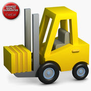 Construction Icons 05 Loader 3d model