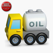 Construction Icons 09 Fuel Truck 3d model