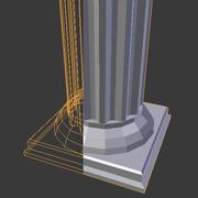 Set di architettura romana 3d model