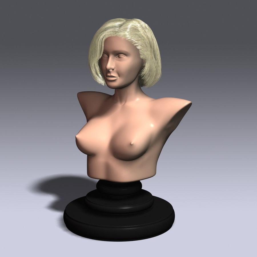 Virtual Hair 6 royalty-free 3d model - Preview no. 2