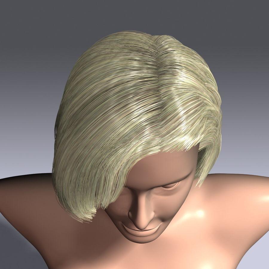Virtual Hair 6 royalty-free 3d model - Preview no. 9