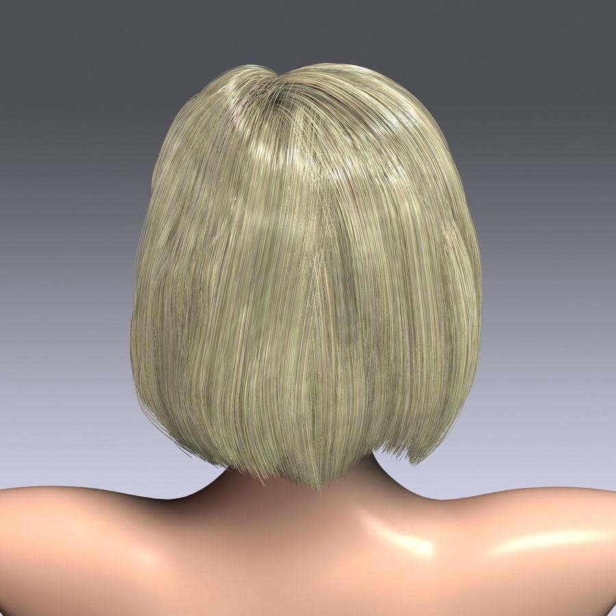 Virtual Hair 6 royalty-free 3d model - Preview no. 7
