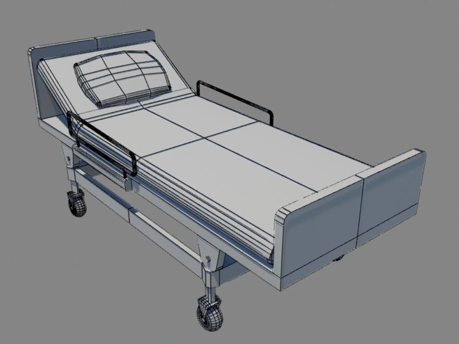 Hospital Scene royalty-free 3d model - Preview no. 23