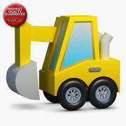 Construction Icons 29 Excavator 2 3d model