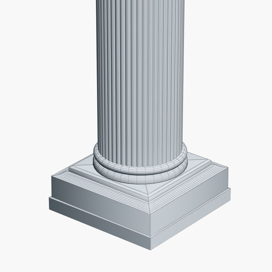 Column 1 royalty-free 3d model - Preview no. 7