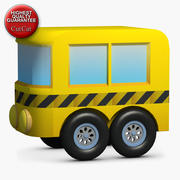 Construction Icons 24 Bus 2 3d model