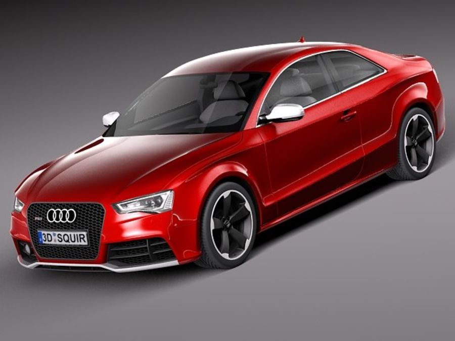 Audi RS5 2012 royalty-free 3d model - Preview no. 1