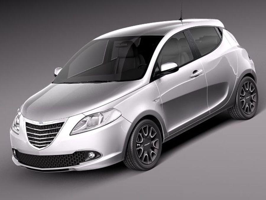 Chrysler Ypsilon 2012 3d Model 129 Obj X Lwo Fbx C4d 3ds