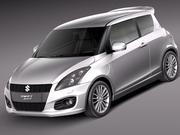 Suzuki Swift Sport 2012 3d model